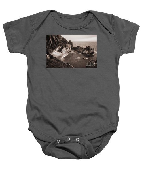 Baby Onesie featuring the photograph Mcway Falls by Vincent Bonafede