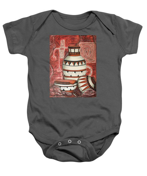 Messages Baby Onesie