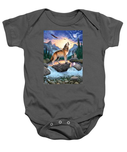 Midnight Call Baby Onesie by Chris Heitt