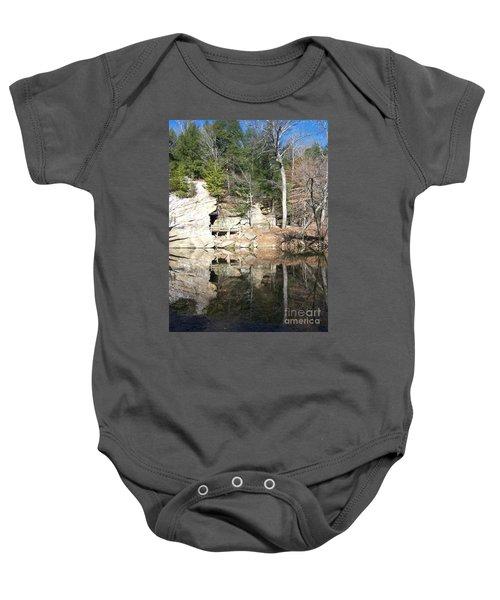 Sugar Creek Mirror Baby Onesie