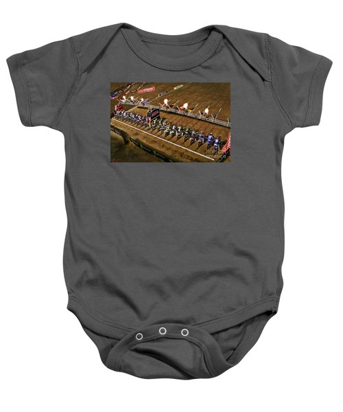 Monster Energy Ama Supercross  450sx Main Baby Onesie