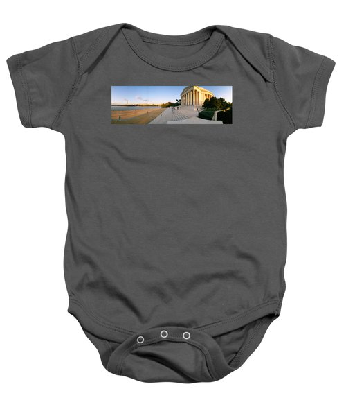 Monument At The Riverside, Jefferson Baby Onesie by Panoramic Images