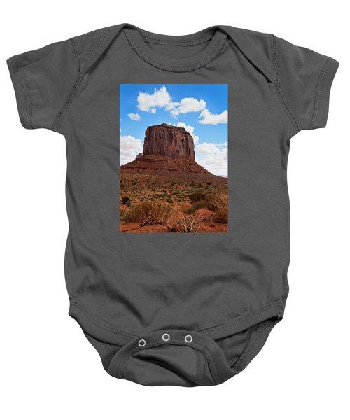 Monument Valley Monolith West Mitten Butte Baby Onesie