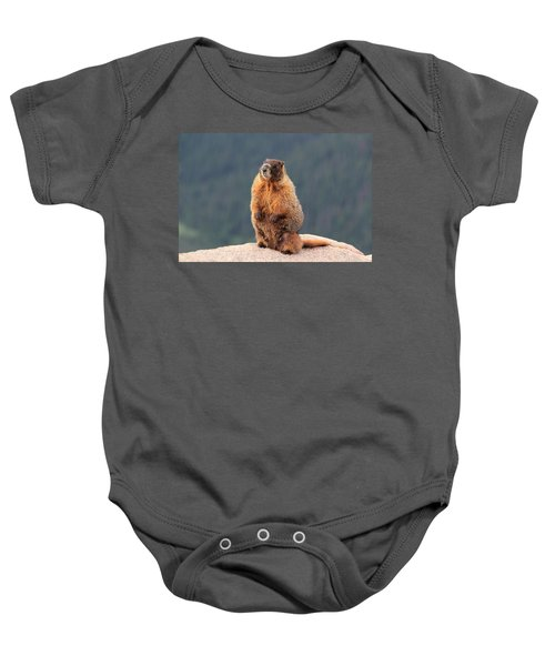 Mother Marmot Baby Onesie