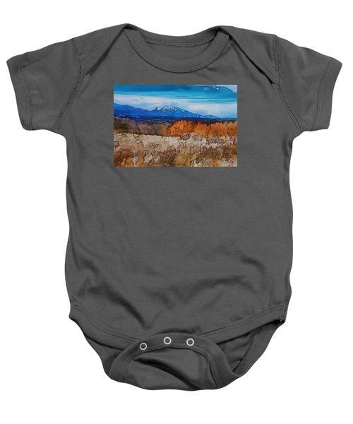 Mount Princeton Baby Onesie
