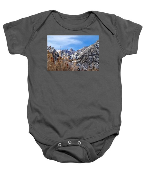 Mount Whitney - California Baby Onesie