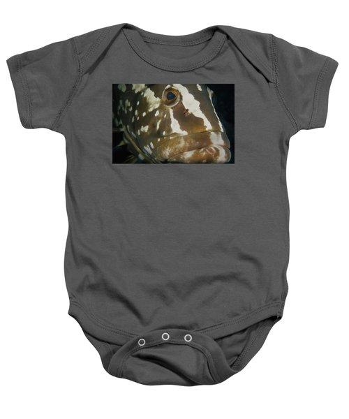 Mr. Grouper Baby Onesie