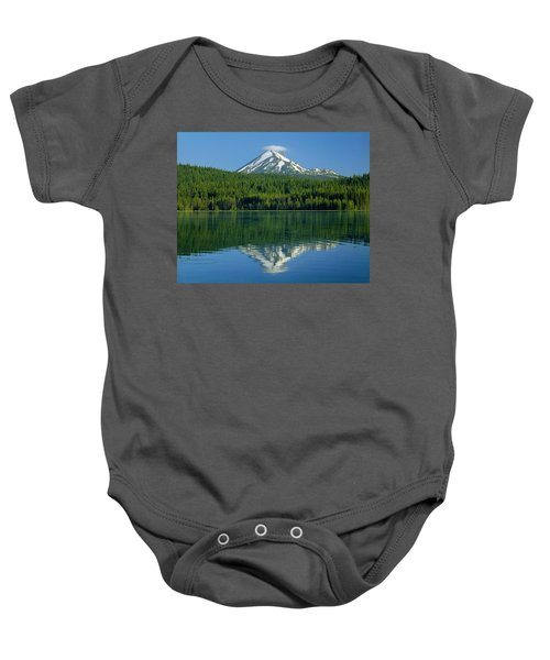 1m5705-h-mt. Mcloughlin From Lake Of The Woods Baby Onesie