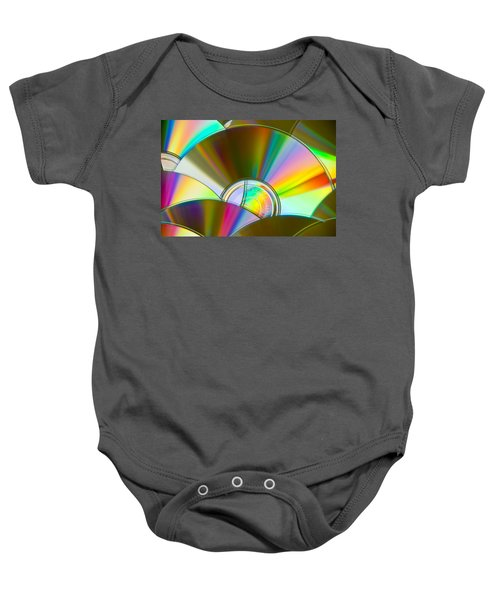 Music For The Eyes Baby Onesie