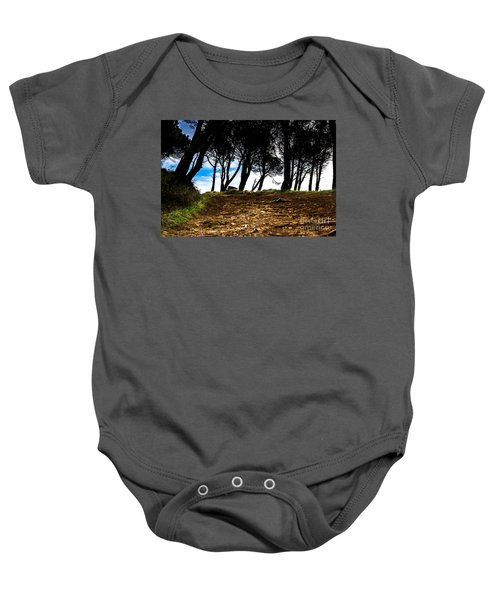 Mystery Of The Forest Baby Onesie