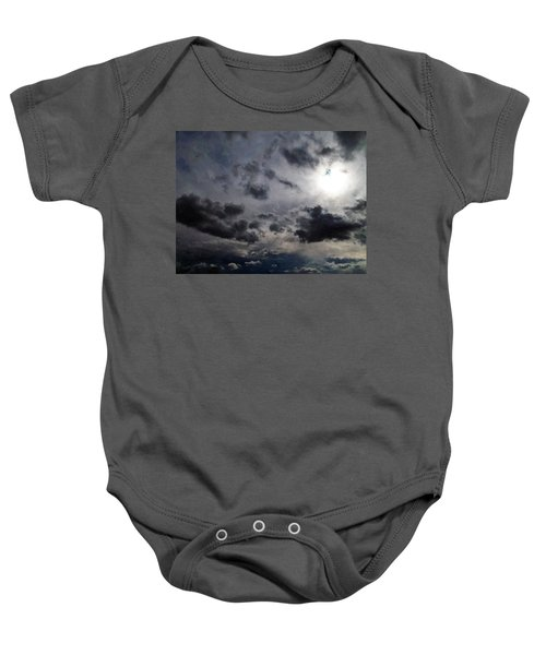 Mystery Of The Sky Baby Onesie