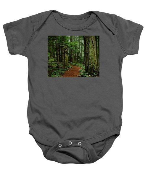 Mystical Path Baby Onesie