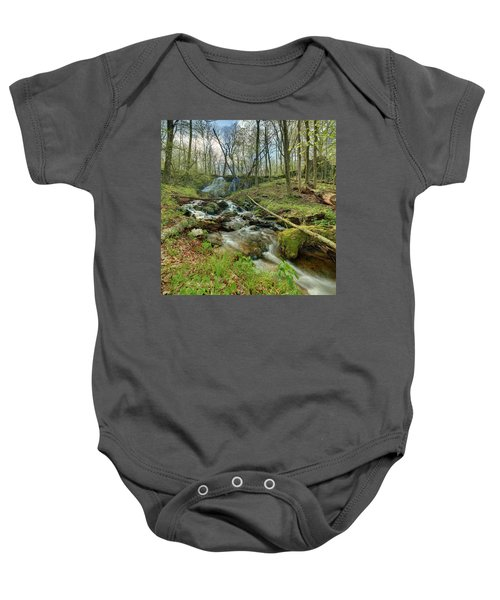 Naked Creek Falls Baby Onesie