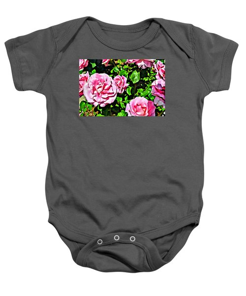 Nana's Roses Baby Onesie