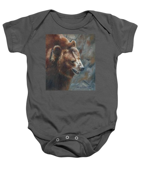 Nate - The Bear Baby Onesie