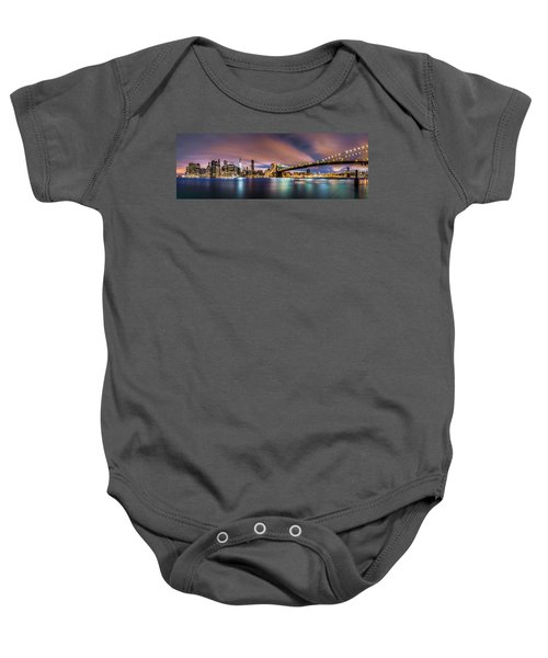 New Dawn Over New York Baby Onesie