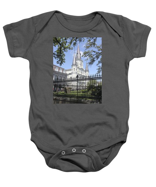 St Louis Cathedral In New Orleans 19 Baby Onesie