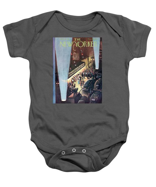 0da6eb1ba New Yorker September 26th, 1953 Baby Onesie