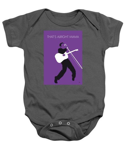 No021 My Elvis Minimal Music Poster Baby Onesie