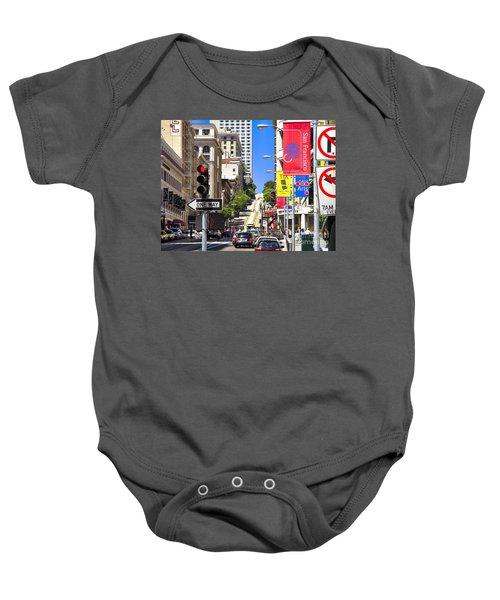 Nob Hill - San Francisco Baby Onesie