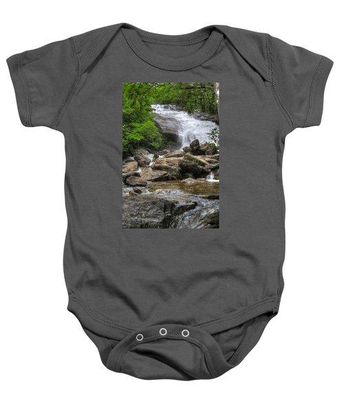North Carolina Waterfall Baby Onesie