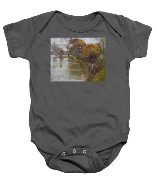 November 4th At Hyde Park Baby Onesie by Ylli Haruni
