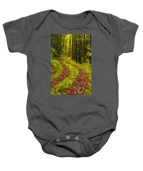 Obscured Baby Onesie