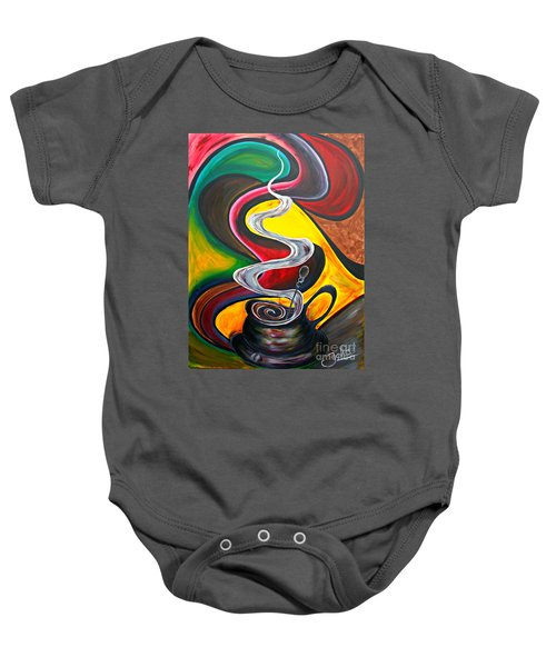 Ode To Coffee... Baby Onesie