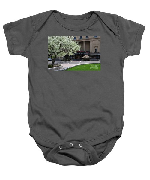 D45l42 Ohio Theatre Photo Baby Onesie