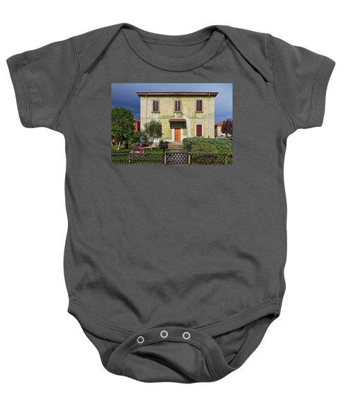 Old House In Crespi D'adda Baby Onesie