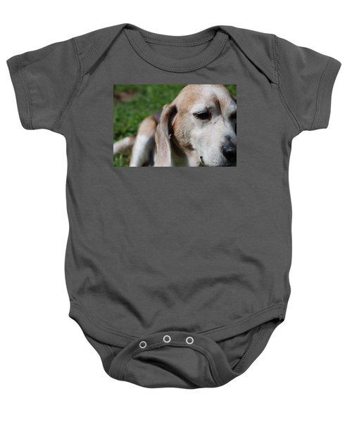 Baby Onesie featuring the photograph Old Is Beautiful by Jennifer Ancker
