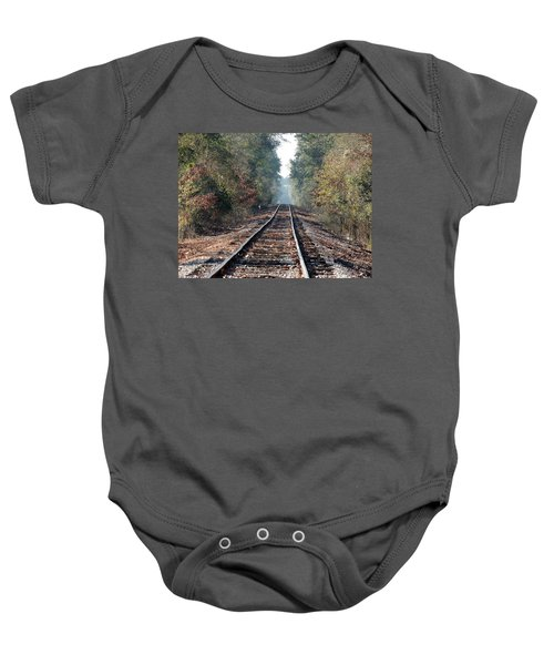 Old Southern Tracks Baby Onesie