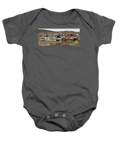 Old Wrecks Baby Onesie