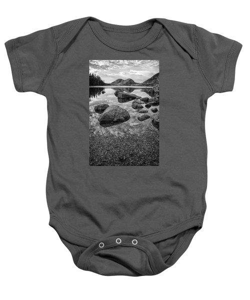 On Jordan Pond Baby Onesie