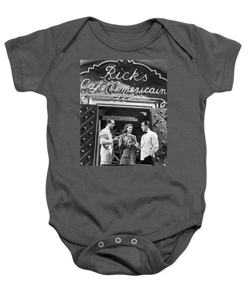 On The Casablanca Set Baby Onesie