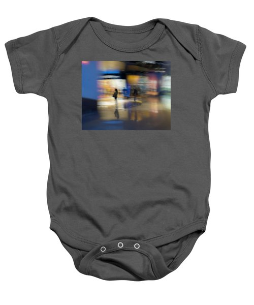 Baby Onesie featuring the photograph On The Threshold by Alex Lapidus