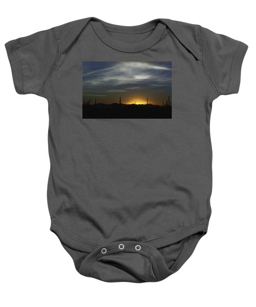 Once Upon A Time In Mexico Baby Onesie by Lynn Geoffroy