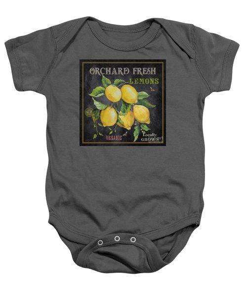 Orchard Fresh Lemons-jp2679 Baby Onesie