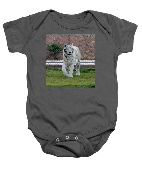 Out Of Africa White Tiger Baby Onesie