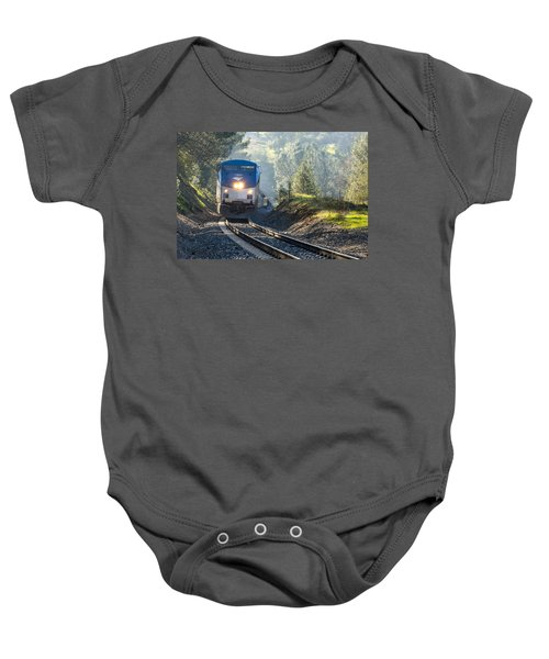 Out Of The Mist Baby Onesie