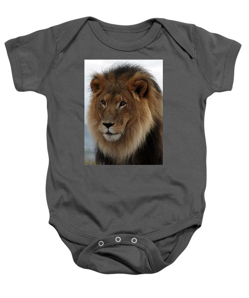 Out Ofafrica  Lion 4 Baby Onesie