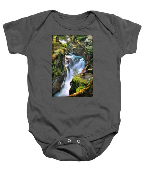Out On A Ledge Baby Onesie