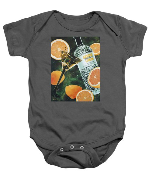 Outer Citron Baby Onesie