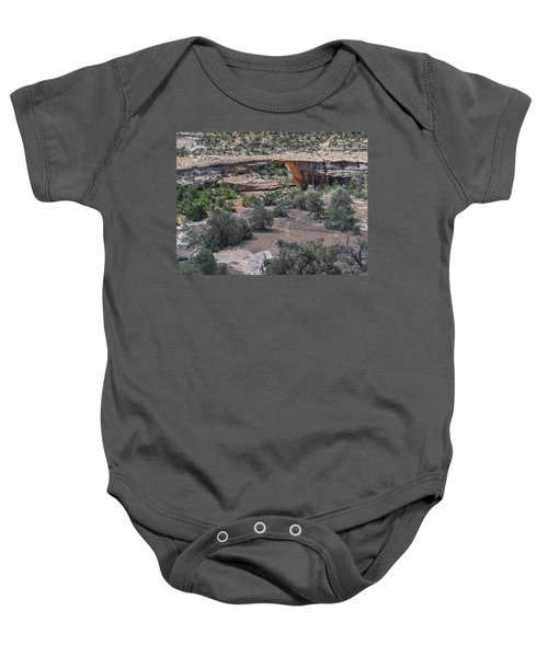 Owachomo Natural Bridge Baby Onesie