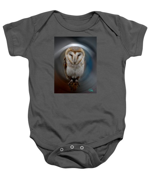 Baby Onesie featuring the photograph Owl Alba  Spain  by Colette V Hera  Guggenheim