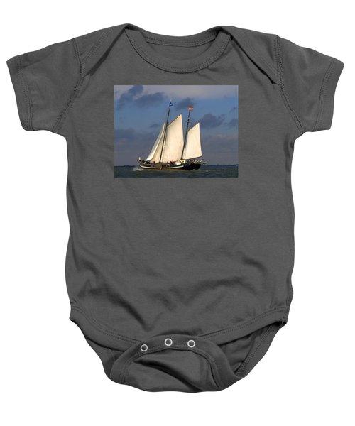 Paint Sail Baby Onesie