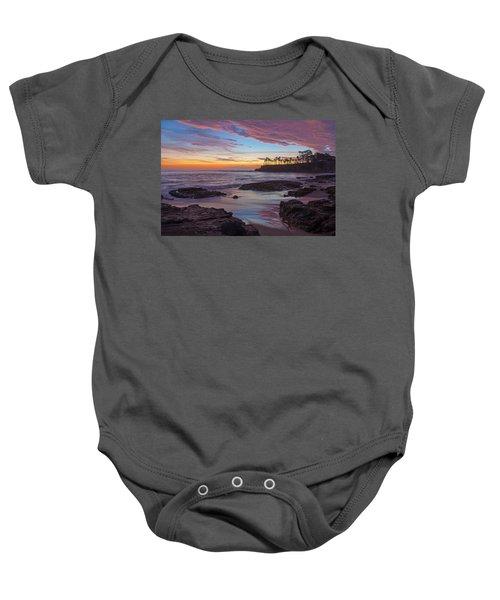 Painted Sky Laguna Beach Baby Onesie