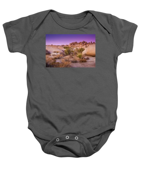 Painterly Desert Baby Onesie