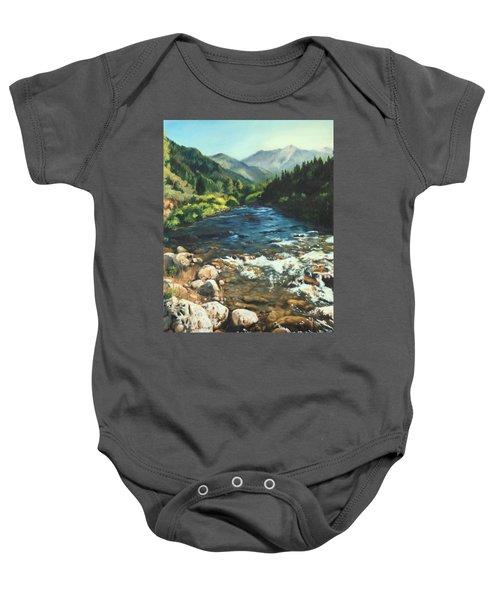 Palisades Creek  Baby Onesie