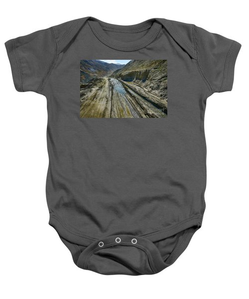 Pamir Alay Road Baby Onesie